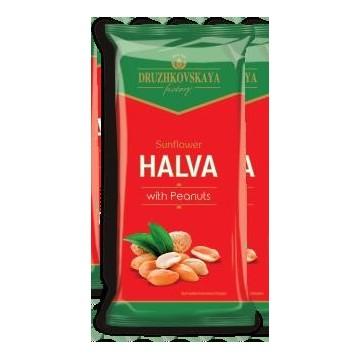 Halva di semi di girasole con le arachidi, 200g