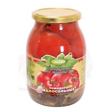 """Pomodori marinati  , """"Zakuska"""", 900g/480g"""